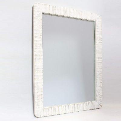 Espelho em Madeira Shabby - 65x48cm