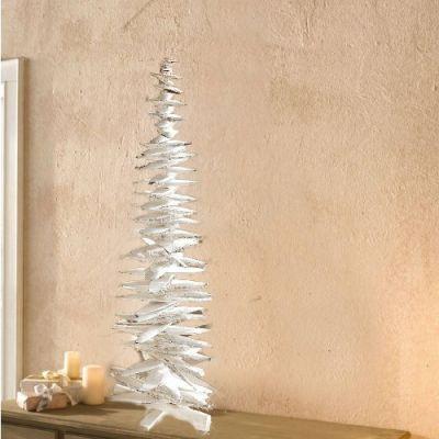 Árvore de Natal  em Madeira – Branca- NA1282