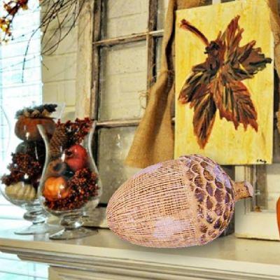 Bolota Decorativa Cerâmica