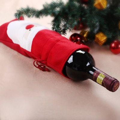 Pack 2 Capas Decorativas-Garrafa de Vinho Pai Natal-NA1238