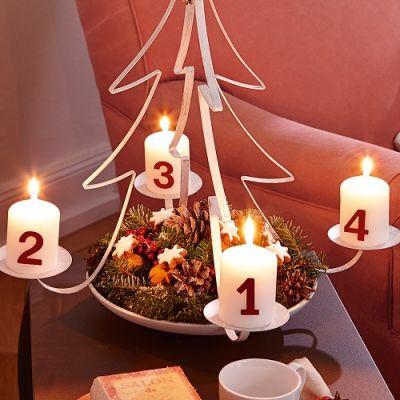Castiçal Árvore de Natal - CJD1217