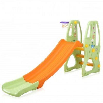 Escorrega Infantil com Cesto de Basketball - CR2379