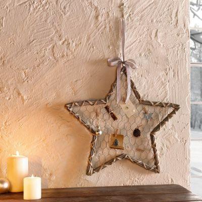 """Decoração """"Estrela dos Desejos"""" 50 cm"""