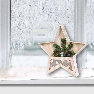 Estrela de Natal LED 38cm - NA2298