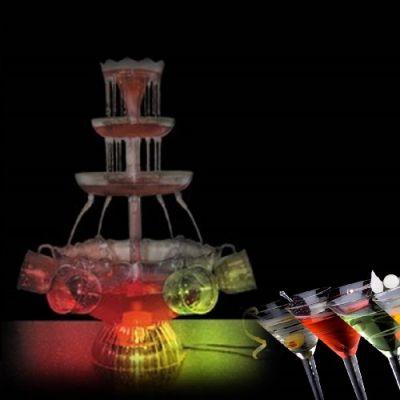 Fonte de Bebidas Iluminada