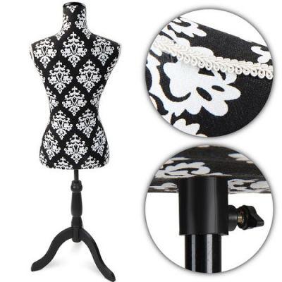Manequim Decorativo B&W