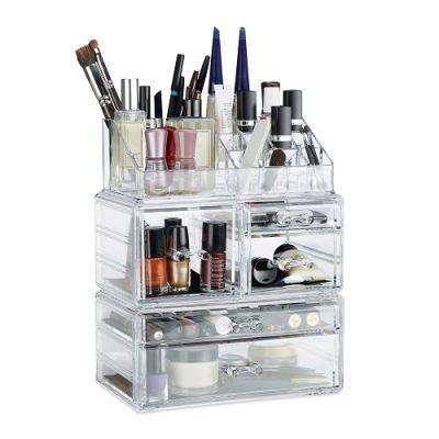 Organizador Maquilhagem Acrílico 21 Compartimentos–CJU2376