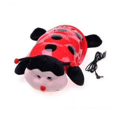 Peluche Projector LED Glow Pillow Joaninha - CR1582