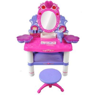 Toucador Infantil com Espelho e Banco - CR1586