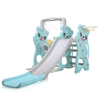 Playground para Crianças 3 em 1 para Interior ou Exterior