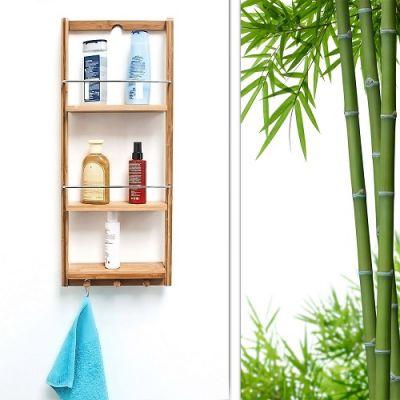 Prateleira Casa de Banho em Bambu - CJCB836