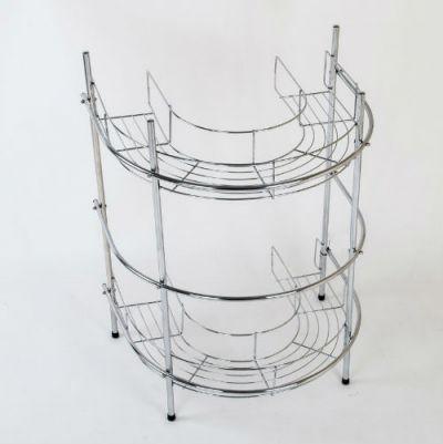 Prateleira para Lavatório em Metal Cromado - CJCB941