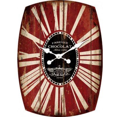 Relógio de Parede 66x48cm Chocolat