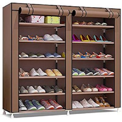 Sapateira  para até 36 Pares de Sapatos Castanha