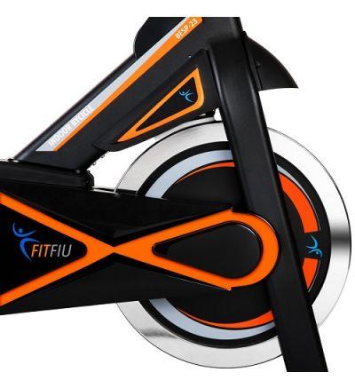 Bicicleta de Spinning  com Disco de Inércia de 23kg - DF2354