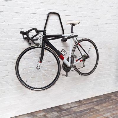 Suporte de Parede Rebatível para 2 Bicicletas