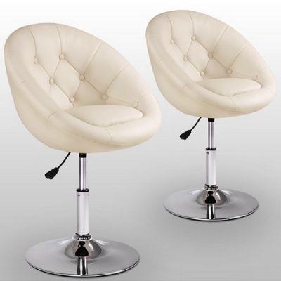 Cadeiras Giratórias de Bar Chesterfield