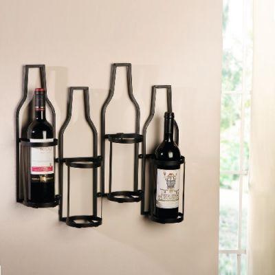 Garrafeira para 4 Garrafas Bottles