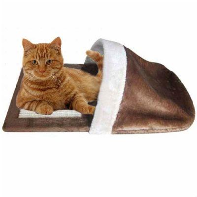 Cama/Arranhador para Gatos Forma de Chinelo-AN585