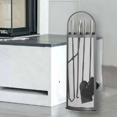 Conjunto de Lareira Modern 5 Peças