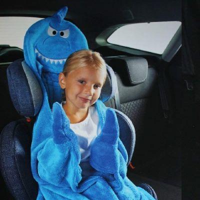 Manta de Viagem para Criança - Tubarão - CR2520