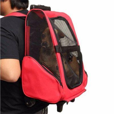 Mochila/Carrinho Transporte para Animais