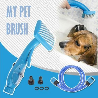 Escova com Mangueira My Pet Brush - AN601
