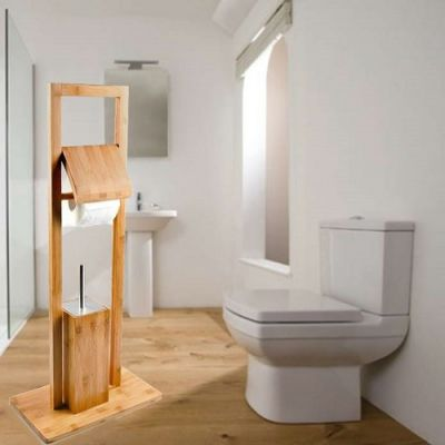 Conjunto de WC em Bambu - CJCB892
