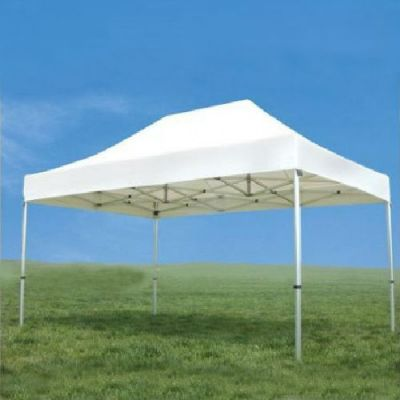 Tenda Plus 4,5x3 Sem Paredes - Branca