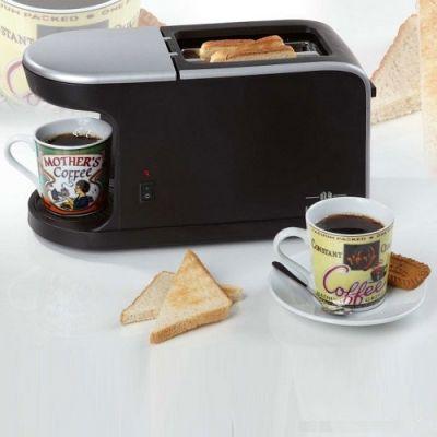 Cafeteira / Torradeira Toast'n'Coffee