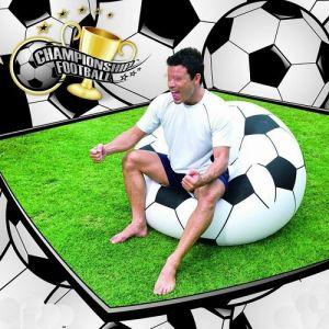 Puff Insuflável Bola de Futebol