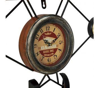 Relógio de Parede Aircraft Vintage Retro