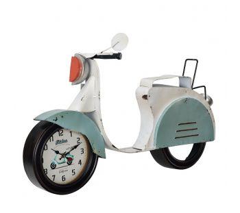 Relógio de Parede Scooter Vintage Retro