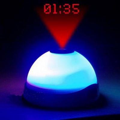 Relógio Despertador Projector c/ LED
