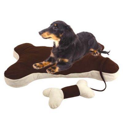 Cama Forma de Osso com Brinquedo -71 cm – AN586