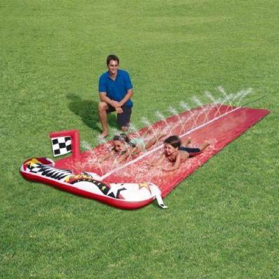 Slide Aquático Duplo com 4,82m  - CR1800
